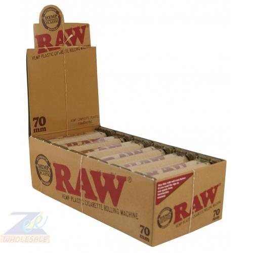 RAW PLASTIC CIGARATTE ROLLING MACHINE 12 ROLLERS/BOX 70 MM